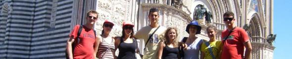 Tournee durch Italien